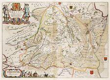 MAP ANTIQUE VAN LOON ATLAS DUTCH PROVINCE DRENTHE REPLICA POSTER PRINT PAM1315