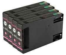 4 Magenta T7023 non-OEM Ink Cartridge For Epson Pro WP-4545DTWF WP-4595DNF
