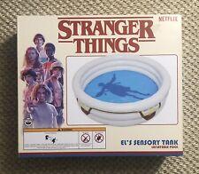 Netflix Stranger Things El's Sensory Tank Inflatable Swimming Kiddie Pool NEW