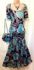 FENN WRIGHT MANSON (14/16) Silk Devore Top, Silk Skirt & Silk Devore Bag/Weddin