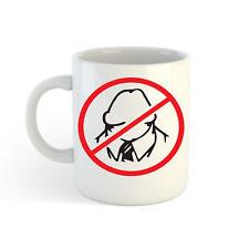 NO dickheads LOGO 313ml (300ml) estampado Taza Jarro Para Café