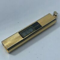 FUTURA VINTAGE PENDANT GOLD TONE WATCH NEW BATTERY INSTALLED