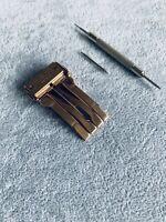 HUBLOT véritable boucle déployante acier pour bracelets caoutchouc Big Bang 44mm