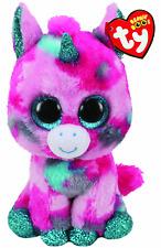 """TY Beanie 6"""" Plush Gumball Unicorn"""