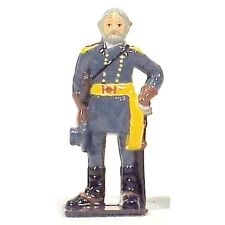 CSA GENERAL ROBERT E LEE CIVIL WAR METAL FIGURE NEW IN COLLECTORS BOX