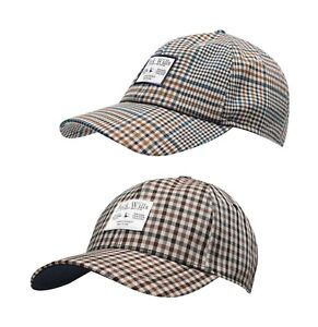 Ladies Jack Wills Wool Comfortable Stylish Casual Petworth Checked Cap