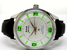 genuine hmt jawan hand winding men's steel vintage india made watch run order h