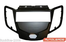 FP-07-18 FORD FIESTA MK7 2009 > BLACK SINGLE DIN FASCIA FACIA ADAPTOR PANEL