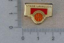 PIN'S FOOTBALL STADE LAVALLOIS LAVAL TANGOS SECTION BASKETBALL