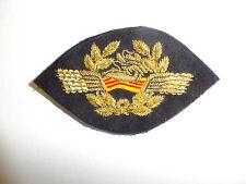 b1895 RVN Air Vietnam Pilot Visor Cap Badge emblem pre 1975 IR6C