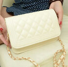 Women's Lady PU Leather Shoulder Chain Bag Messenger Handbag Crossbody Bags New