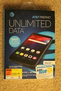 New PREPAID AT&T LG Xpression Plus - Smartphone Cell Phone Mobile Expression