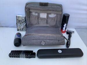 Emirates Bvlgari Mens Airline First Class Amenity Kit Toiletries Bag