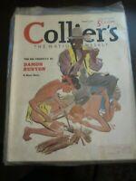 Colliers Magazine August 1937 The Big Umbrella Damon Runyon