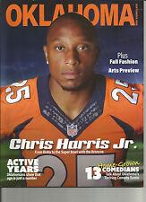 OKLAHOMA MAGAZINE - Chris Harris, Jr. - Denver Broncos - September, 2016