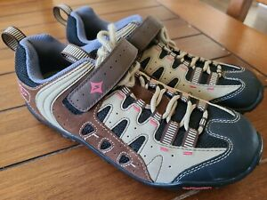 Specialized Womens 7.5 38 Tahoe Shimano Cleats Cycling Shoes Trail Mountain