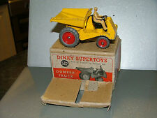 DINKY TOYS MECCANO VINTAGE BOXED DIECAST MUIR-HILL DUMPER TRUCK No.562 1948-54