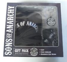 Sons Of Anarchy Gift Pack... Hat /Cap... Drink Cooler... Key Ring