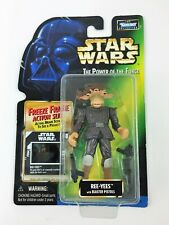"""New Hasbro Star Wars POTF Freeze Frame 3.75"""" Ree-Yees Action Figure Sealed"""