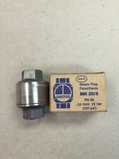 3/8 Inch Gestra Steam Trap MK 25/5 320 PSI Stainless Steel New lot of 7