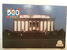 Lincoln Memorial 500 Pc Jigsaw Puzzle / Fun4U Puzzles / New