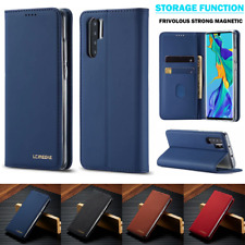For Huawei P30 Pro lite Case Luxury Magnetic Leather Wallet Card Slot Flip Cover