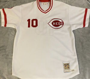 SPARKY ANDERSON 1976 Reds Mitchell&Ness Cooperstown Authentic Collection Jersey