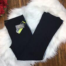 Pure Lime NWT Women's Black Legging Workout Athletic Yoga Pants Size Medium