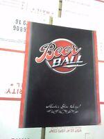 beer ball arcade flyer