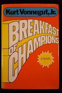 Breakfast of Champions, Vonnegut, First Printing, Fine