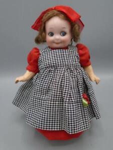 Antique German Bisque Doll AM #253 Nobbikid Googly Glass Eyes Watermelon Mouth