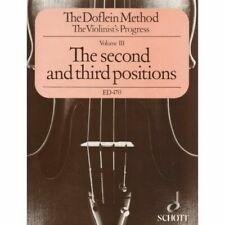 The Doflein Method Volume 3 The 2nd and 3rd Positions SCHOTT 049005122