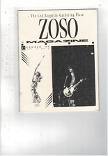 Rare Vintage Led Zeppelin Zoso Magazine October 1990 Vol Iv No X Ms1893