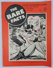 "1952 THE BARE FACTS MEN'S RISQUE SEX HUMOR MAGAZINE BILL WENZEL ""GOOD GIRL"" ART"