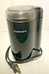 Black Stainless Steel Cuisinart Coffee Grinder