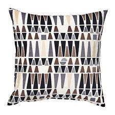 Ikea MALISEN Duck Feather Filling Cushion White/Beige,50x50 cm,Cotton Velvet Top