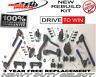 HD Ball Joint Tie Rod Idler Pitman Arm Kit Chevrolet Blazer S10 GMC 4x4 1997