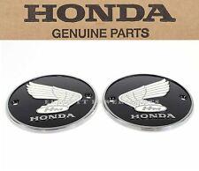 Honda Ca77 Genuine Fuel Tank Emblems 1 Set