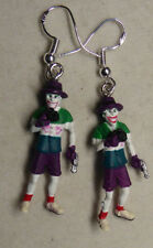 NORA WINN UNIQUE THE JOKER  Earrings 925 MOVIE BATMAN CHARACTERS