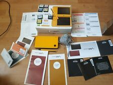 Nintendo DSi XL Yellow Handheld System BOXED FREE UK TRACKED POST 7 GAME BUNDLE