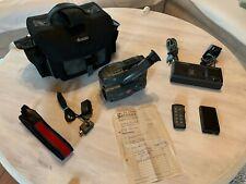 Grundig Video8 Camcorder LC235E Camera Recorder Zubehörpaket Tasche