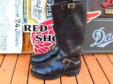 Vintage Nasty Feet USA 1970s Rare Engineer Boots Made By Red Wing 9M