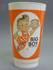 Amoco Big Boy The Original Restaurant Plastic Drink Cup - VINTAGE
