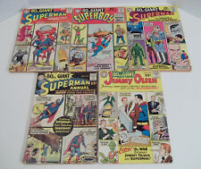 80 Page Giant #`s 1, 2, 6, 10 and 11 DC Comics 1964 / 1965 lot / set / run / pg.