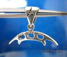 Cute Klingon Sword Batleth Sterling Silver Pendant Coat Of Arms Star Trek Weapon