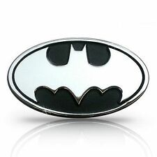 Batman Black Metal Sticker 3D Hyundai I10 Grand Xcent i20 Verna Accent
