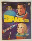 Vintage Science Fiction Coloring Book Space: 1999 TV Series Saalfield 1975 C1863
