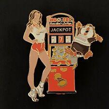 HOOTERS Casino Las Vegas Pin Jackpot 777 Owl Sexy Girl Gambling