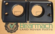 Bearmach Land Rover Defender Headlamp Light Surrounds, MWC8464P / MWC8465P