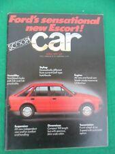 Car Magazine - April 1979 - Ford Escort